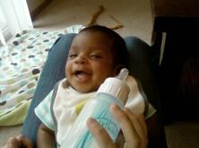 Love that grin!